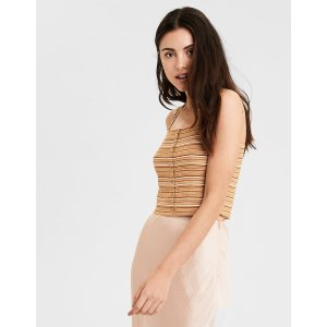 AEOAE Square Neck Crop TopAE Square Neck Crop Top