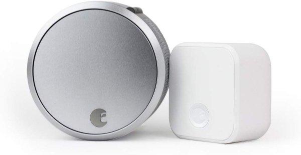 第三代智能门锁 Pro 银色 + Connect连接器