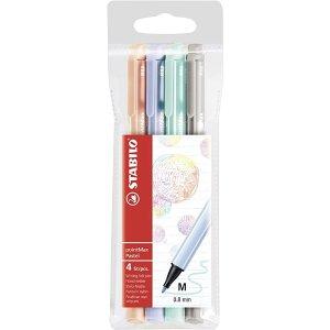 STABILO4色彩色笔 低饱和度颜色水笔