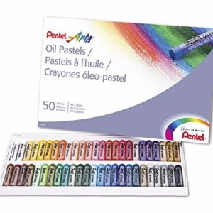 $5.71 Pentel Arts Oil Pastels, 50 Color Set (PHN-50)