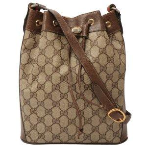 Gucci GG Pattern Logo 单肩包