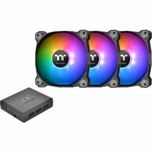 TT Pure Plus 12 RGB Fan 3-Pack 120mm Fans RGB Plus Software Digital Controller