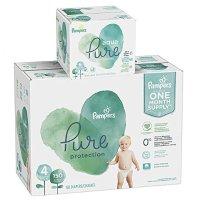 Pure Protection  4 号尿不湿 150 片+ Aqua Pure 宝宝湿巾 336 片