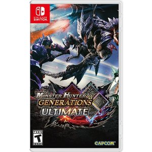 CAPCOMMonster Hunter Generations Ultimate for Nintendo Switch - Nintendo Game Details