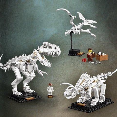 $74.95(原价$99.99)LEGO ideas系列 恐龙化石21320