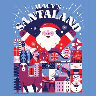 免费合影 告诉他你的礼物清单Macy's 圣诞老人要来啦 5大城市 提前预约