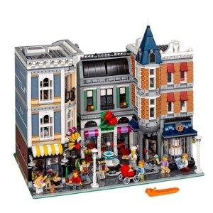 罕见补货$399.9+赠闹鬼热狗Lego Assembly Square 十周年组合广场