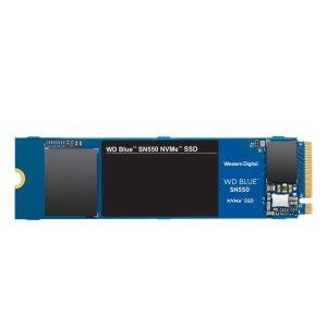 $159.99(原价$199.99)WD Blue SN550 1TB PCle3.0 x4 NVMe 固态硬盘