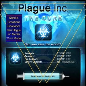 IOS 安卓均可下载  新版本免费更新「瘟疫公司」Plague Inc 大型更新 一起来开发解药 拯救世界吧