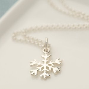 Lily charmed雪花项链