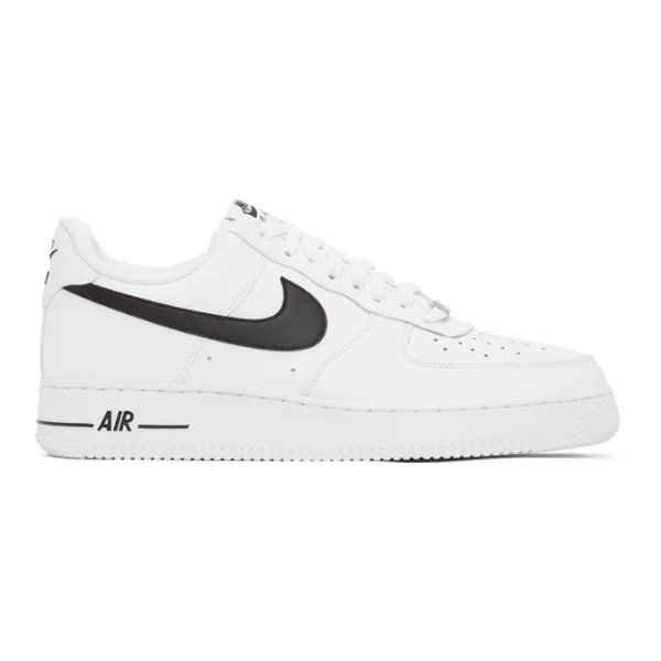 黑白 Air Force 1 运动鞋