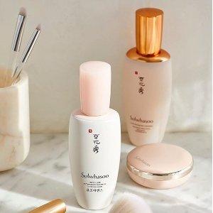 最高送价值$300好礼+免邮Sulwhasoo官网 美妆护肤产品热卖 收润燥精华