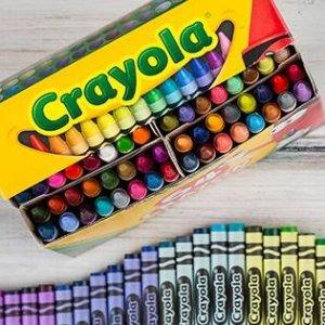 十色水彩笔$0.97 绘画桌椅$19.99折扣升级:Crayola 绘儿乐 蜡笔、水彩笔等低至3折热卖