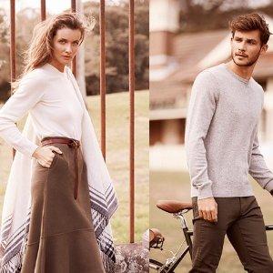 低至7.7折母亲节送温暖:UNIQLO官网  多款式羊绒衫热卖