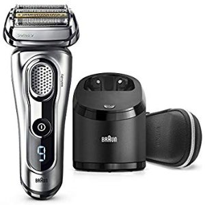 Amazon.com: Braun Series 9 Men's Electric Foil Shaver with Wet & Dry Integrated Precision Trimmer & Rechargeable and Cordless Razor with Clean&Charge Station, 9296cc: Beauty