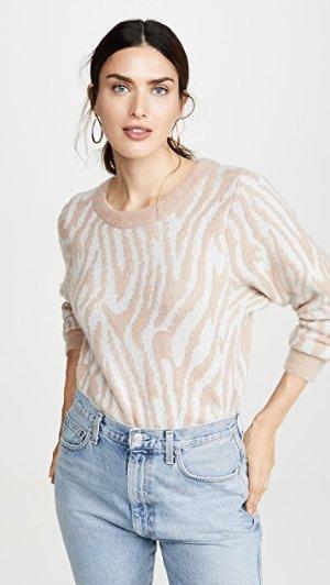 Rebecca Taylor Tiger Stripe Pullover | SHOPBOP