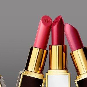 最高减$450最后一天:Tom Ford 美妆香水变相7.75折 收四色眼影 新款白管唇膏