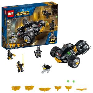 $14(原价$24.99) 影迷必入Lego 乐高超级英雄蝙蝠侠与利爪军团的对决(155片装)大促