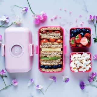$16.63+包邮 耐高低温 颜值高 多色选法国monbento饭盒儿童日式便当盒优惠 欧阳娜娜代言