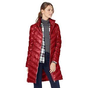 $69.99 八色可选Calvin Klein 女士中长款羽绒外套