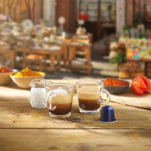 超方便的胶囊咖啡机Nespresso 购买指定咖啡机就送100个咖啡胶囊或立减€80