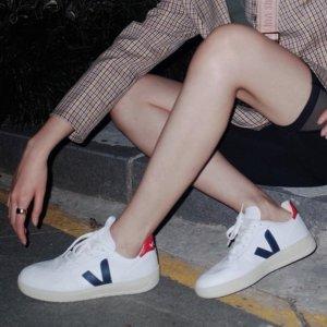 Veja36-39码全V10黑红小白鞋