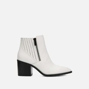 Kenneth Cole ReactionCue Up Double Zip Leather Bootie