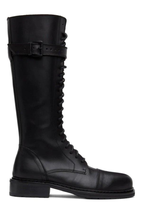 Black High骑士靴