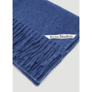 Acne StudiosCanada Fringed Scarf in Navy