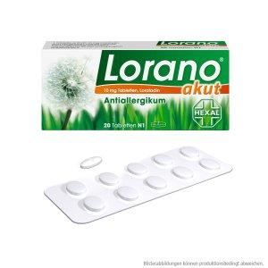 Lorano 过敏药 20粒