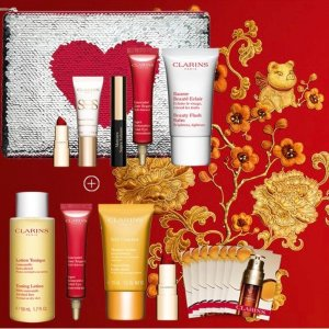Chinese New Year Dealmoon Exclusive!Free 11-Piece Gift With $125 Purchase @ Clarins