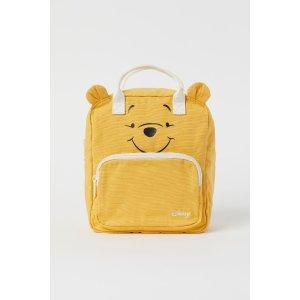 H&M维尼熊双肩包