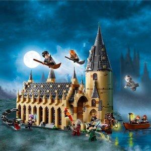 哈利波特+建筑系列限时9折合集:Lego 近期爆款折扣+上新汇总 哈利波特、建筑、机械系列都有