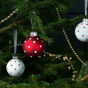 Ikea会员买一送一圣诞挂饰