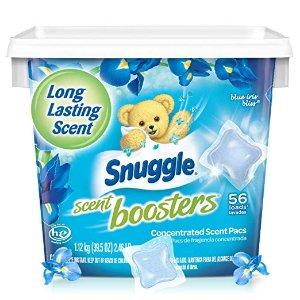 $6.62包邮Snuggle 衣服果冻增香球 野兰花 56颗装