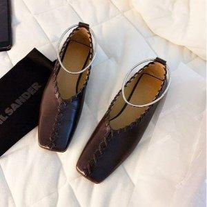 低至3折 £364收封面乐福鞋Jil Sander 折扣区上新 高级感设计美鞋美包好价入
