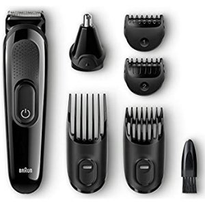 $16.99Philips Norelco Multi Groomer MG3750/50 - 13 piece, beard, face, nose, and ear hair trimmer and clipper, FFP