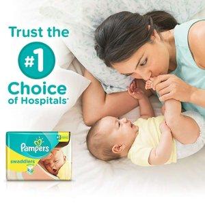 额外立减$4+包邮Pampers 婴幼儿尿不湿特卖,收超好用的Cruisers和Swaddlers系列