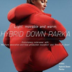 $99.9 Org.$129.9)Uniqlo Hybrid Down Coats Sale