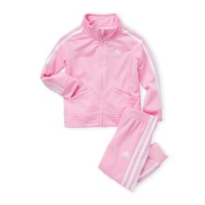 低至3.5折+免邮Century 21儿童运动服饰促销 封面粉嫩Adidas套装$22收