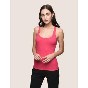 Armani ExchangeArmani Exchange CLASSIC RIB RACERBACK TANK , S/L Knit Top  for Women | A|X Online Store