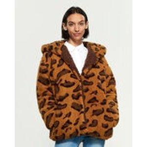 Leopard 泰迪熊大衣