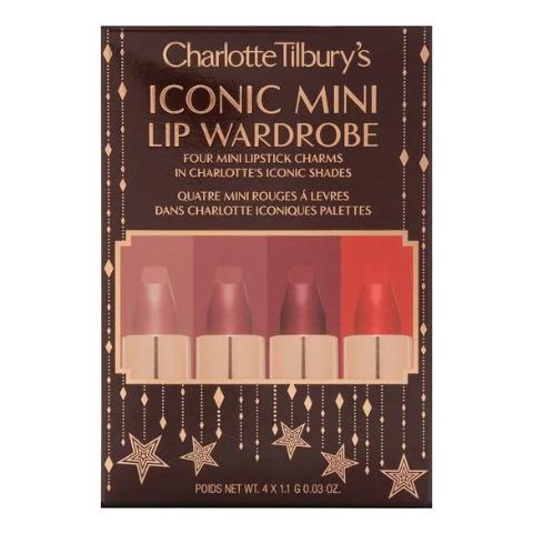 新品€42.95到手+满额送正装唇膏!Charlotte Tilbury 哑光革命圣诞限定唇膏套装 含Pillow Talk!
