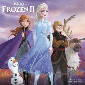 Frozen 2 2020 Wall Calendar