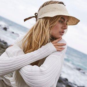 £88收泰迪夹克 £40收封面款帽子Free People 秋冬美衣上新 有型又保暖