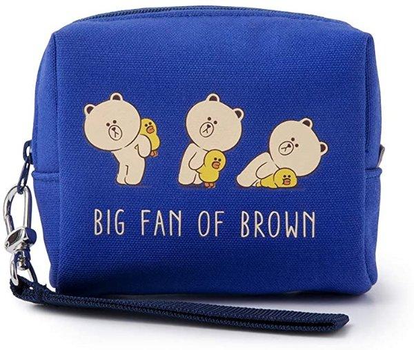 布朗熊 零钱包