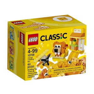 $4.99 LEGO Classic Orange Creativity Box 10709 Building Kit