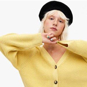 3折起+全场9折 猫咪毛衣仅£5!上新:Monki 针织衫毛衣热促 秋冬必备时尚单品划算入