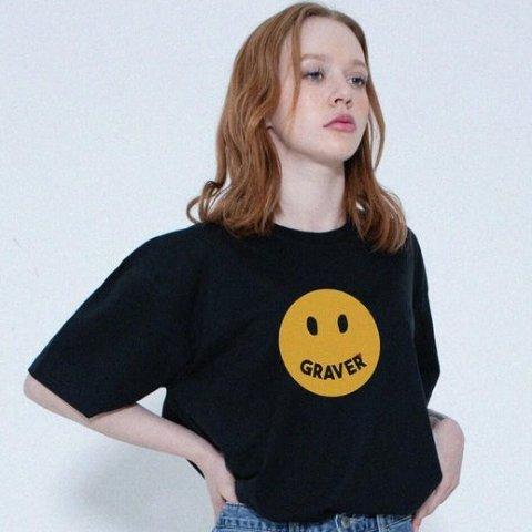 5折起 €37收白色小笑脸TW Concept 笑脸潮牌Graver 超多新品 封面款笑脸T恤€53