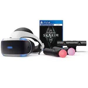 $249.99黒五价:PlayStation VR Headset VR头盔  +摄像头+ 接收器+上古卷轴游戏